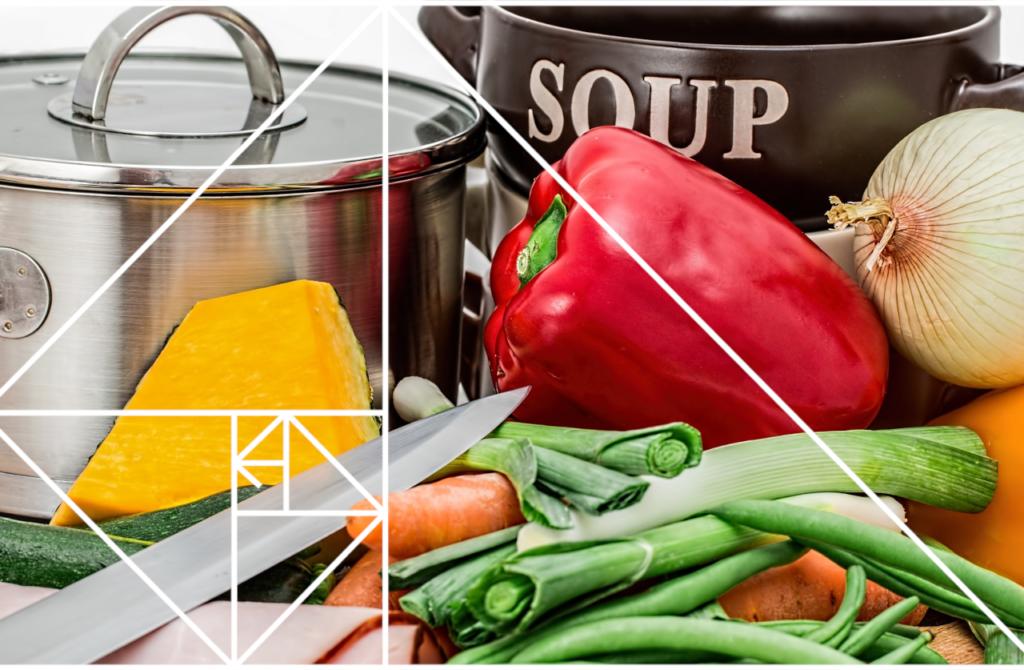 Instruktioner för att laga soppa